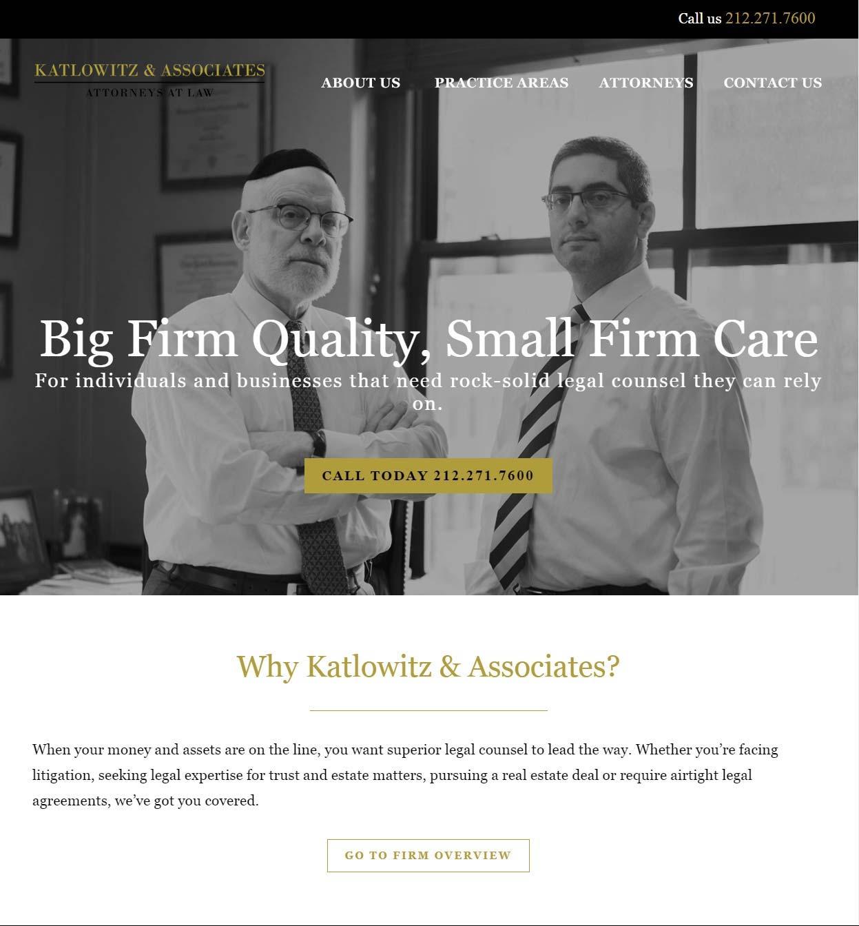 K & A website