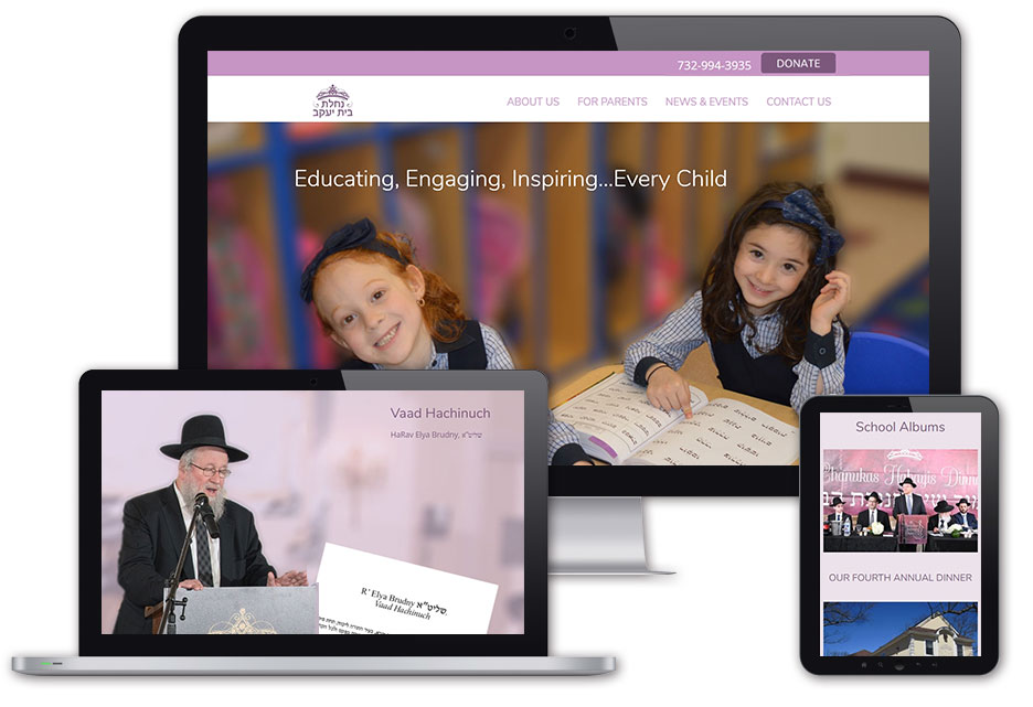 Nachlas Bais Yaakov's website